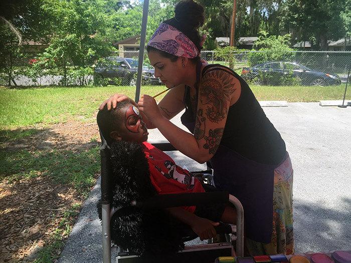 Face Painting Orlando. Teacher Association