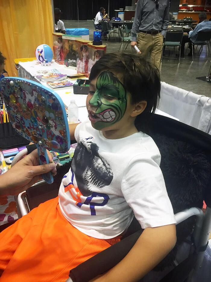 Face Painter Orlando Angles For Kids On Call