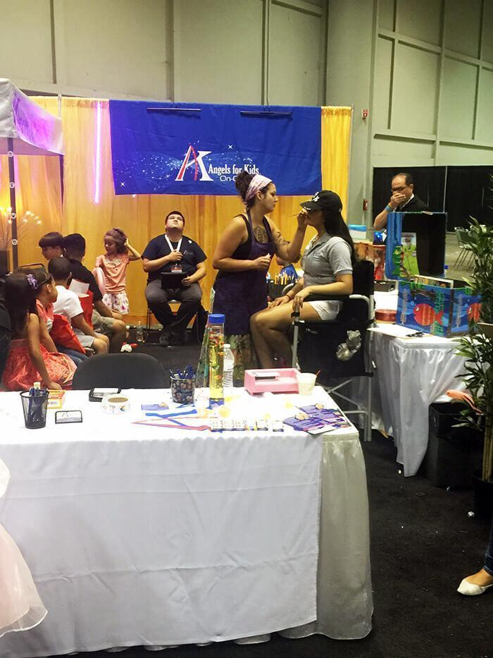 Orlando Face painter Angles for Kids