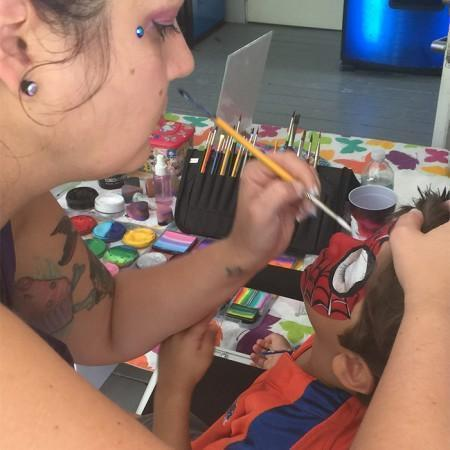 Orlando Face painting Corporate Event