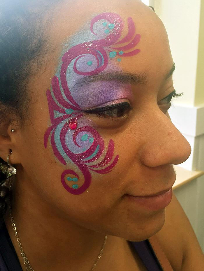 pollo tropical face painting florida