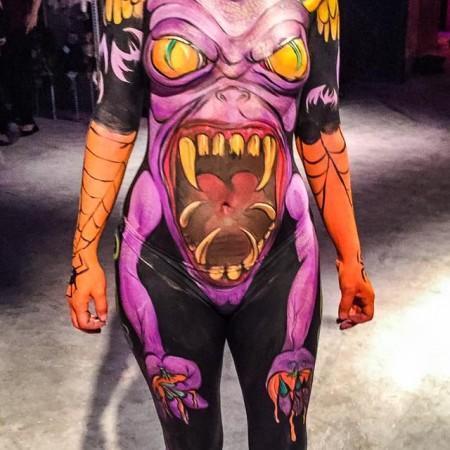 BASE Orlando Body Painting