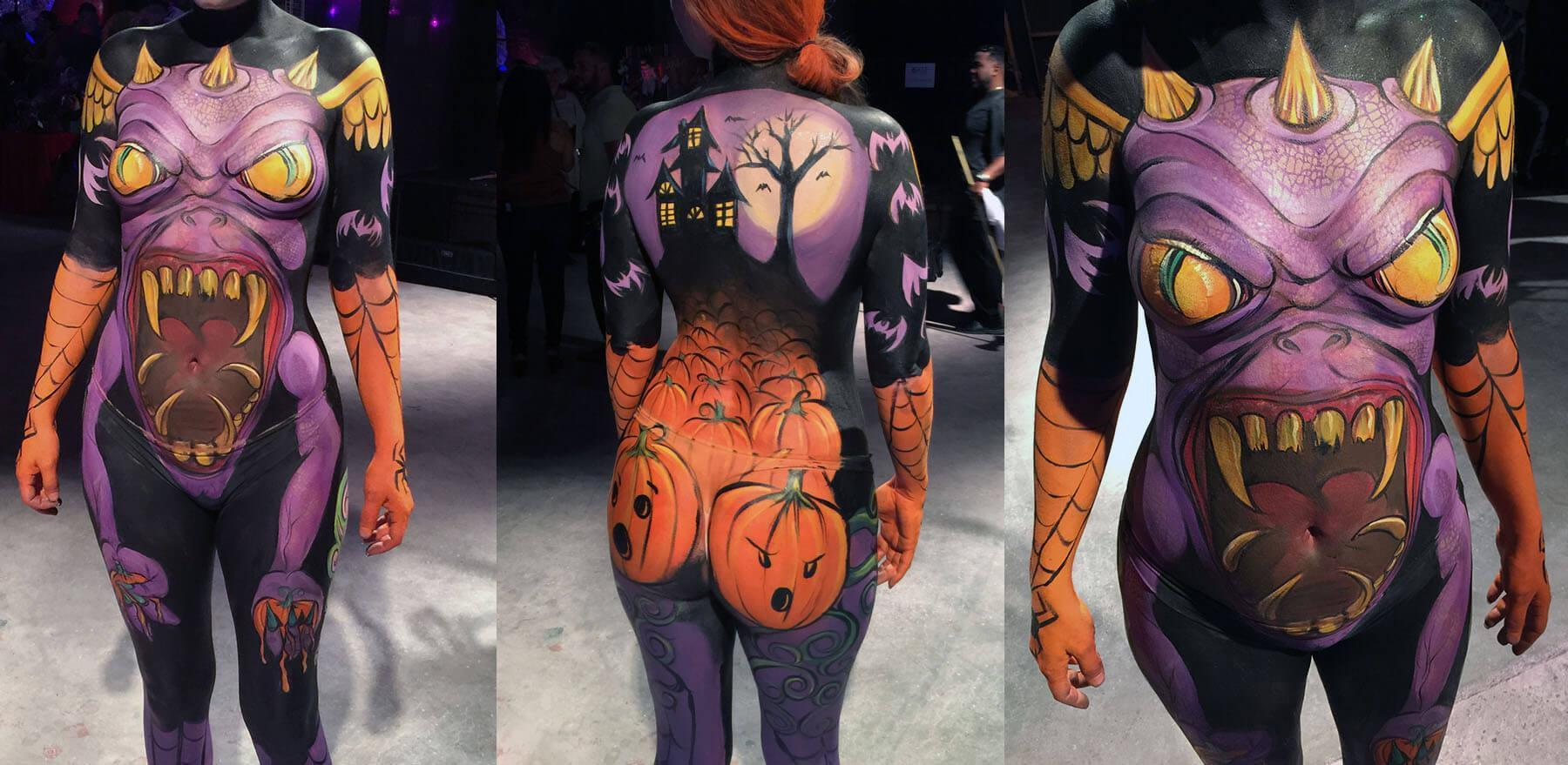 fantasy fest body paint ideas