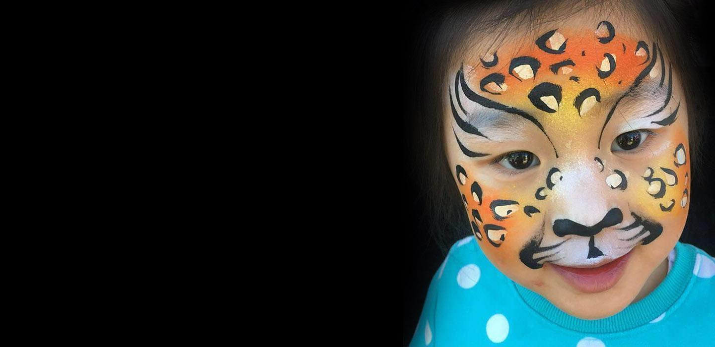 Orlando face painting colorful day events body painter for Face painting business
